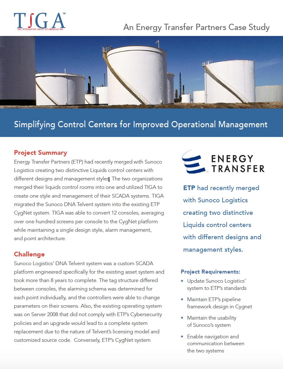 Energy Transfer Partners Case Study