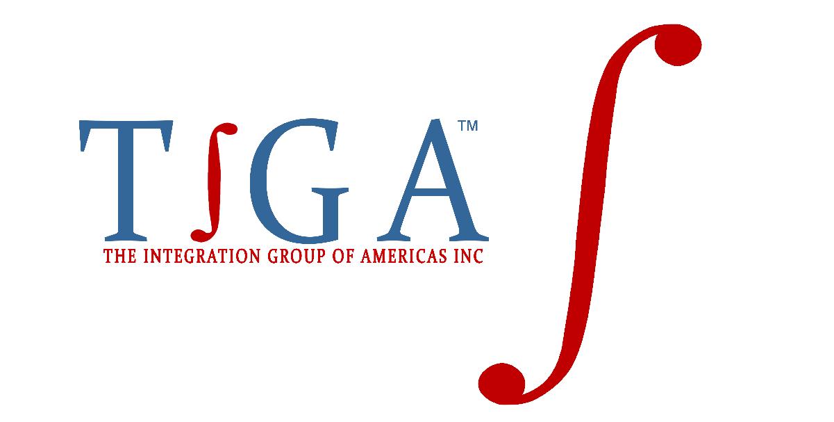 integral symbol with TIGA logo