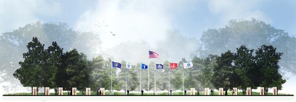 veterans memorial park in lafayette, louisiana