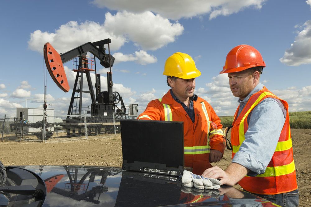 Oil Driller Laptop Men